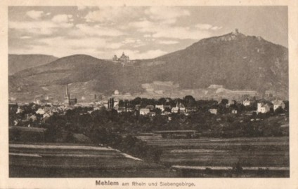 Mehlem Postkarten Ansichtskarten